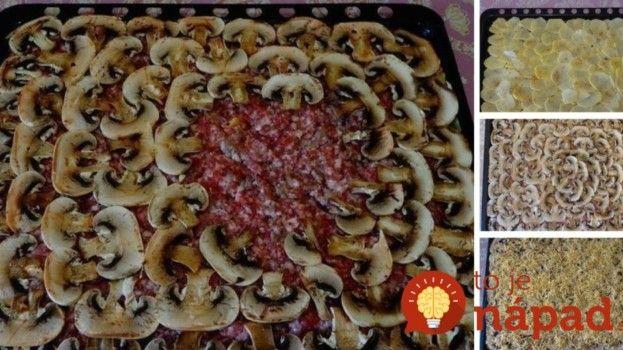 Vrstvený zemiakový pekáč s mäsom a kyslou smotanou: Neskutočne dobré papáničko!