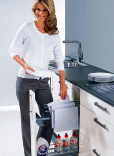 "Концепция эргономики ""Умная кухня"" от компании Hettich. Intelligent kitchen…"