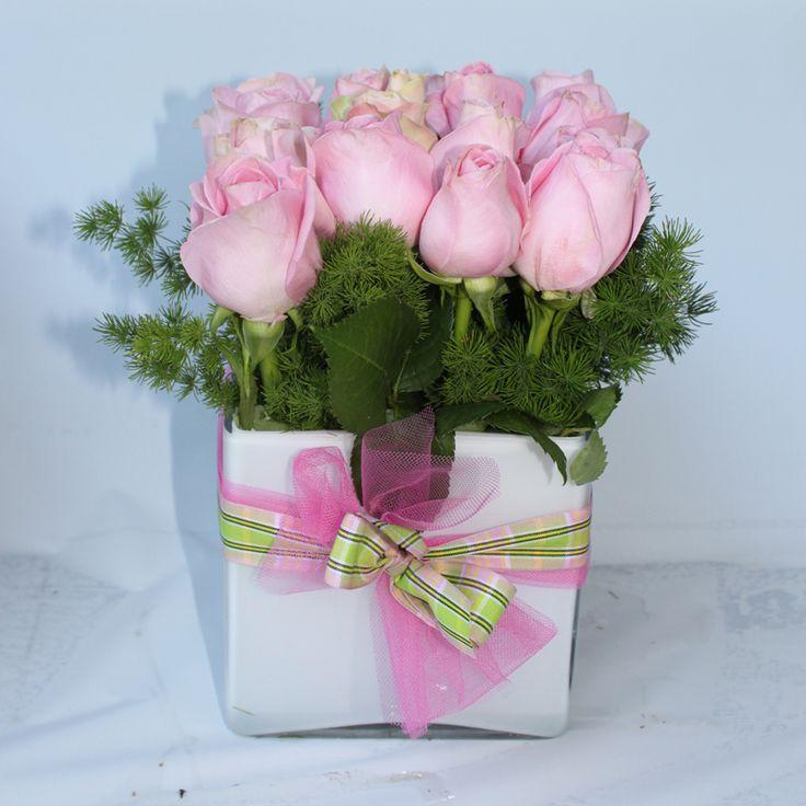 17 migliori idee su centrotavola di rose su pinterest - Centrotavola argento moderno ...