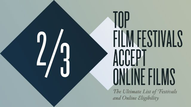 "The Essential List of Festivals & Online Eligibility: ""It is an unwritten, unspoken rule that is accepted by short filmmakers as an immutable reality—if you want your film to be eligible to screen at the world's biggest fests, you can't release it online...Today, the majority of the top film festivals including Sundance and SXSW will accept your film regardless of its online status."""