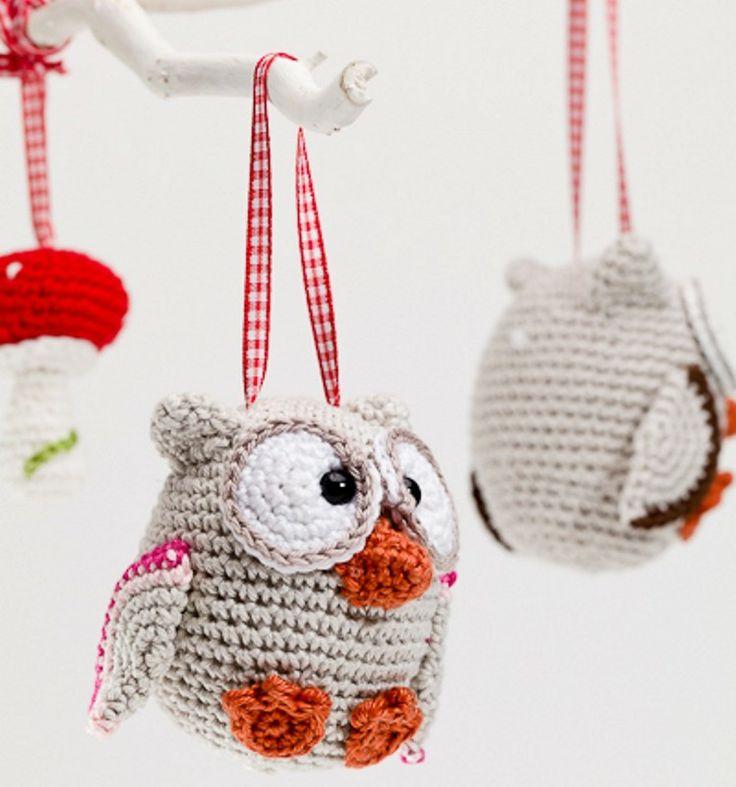 Pim, pam pet uil - Dutch crochet patterns / haakpatroon Nederlands