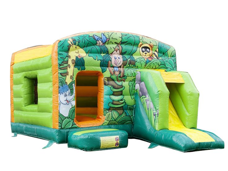 Find Bouncy Castle Jungle Maxi Multifun? Yes, Get What You Want From Here, Higher quality, Lower price, Fast delivery, Safe Transactions, All kinds of inflatable products for sale - East Inflatables UK