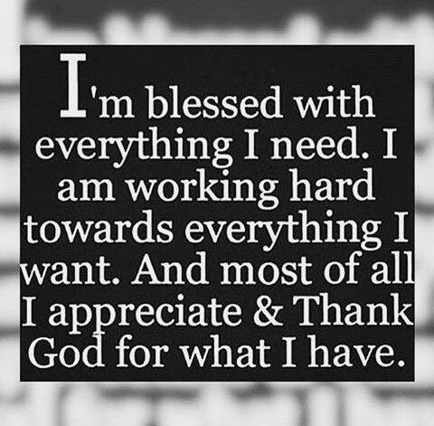 Blessed Thankful