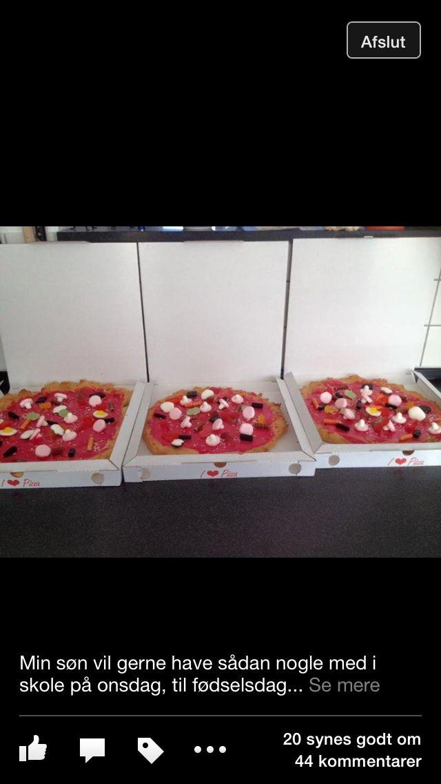 Vandbagelse pizza