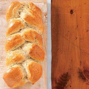 Garlic-Herb Braid Recipe from Taste of Home