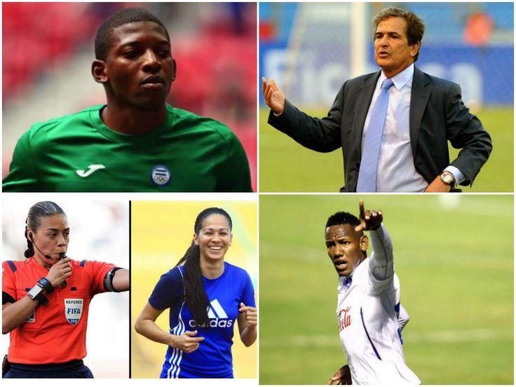 Honduras sobresale en las nominaciones de los Premios Concacaf 2016 . Ellos son los embajadores de nuestro fútbol en los Premios Concacaf 2016 (Foto: El Heraldo Honduras / Deportes El Heraldo / Noticias de Honduras)
