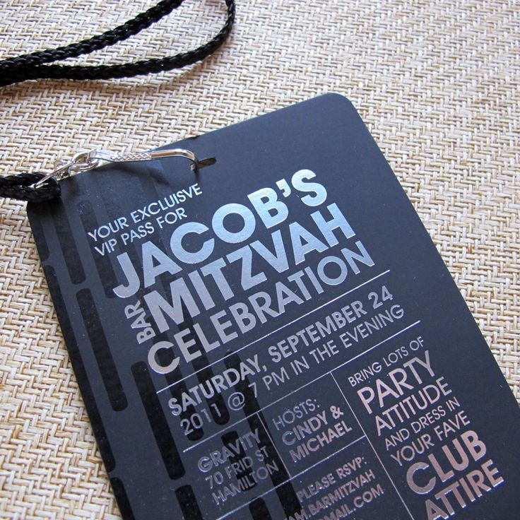 The 25 best bar mitzvah invitations ideas on pinterest bar a teens barbat mitzvah may be the closest your son or daughter gets to experiencing real fame so why not do it big with vip pass invitations solutioingenieria Gallery