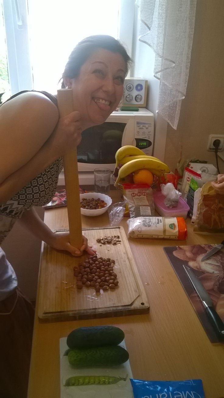 Урок в кулинарной мастерской. 26.07.2015