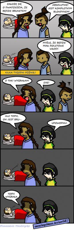 Aang ma fioletowe włosy!!! :-)
