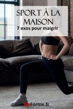 Sport à la maison : 7 exercices pour maigrir | Exercice