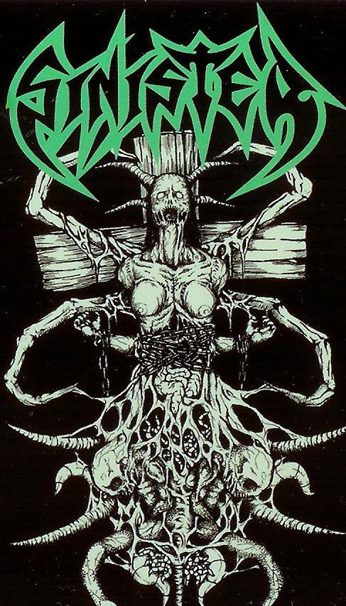 Sinister- classic death metal illustration