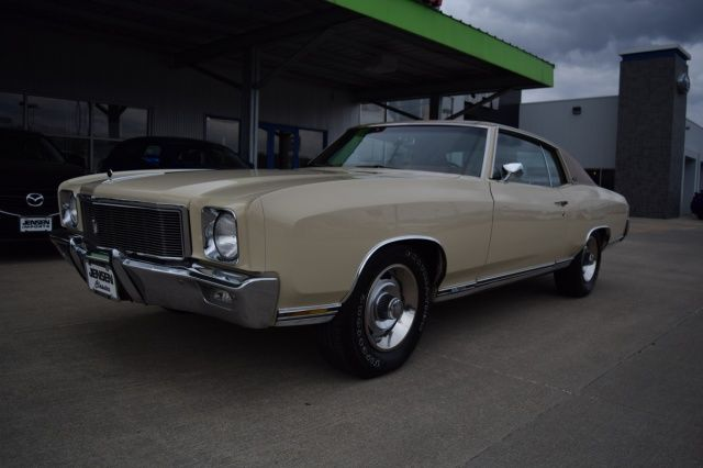 1971 Chevrolet Monte Carlo SS454, LS5 454/365hp 4bbl V8, TH400 Auto, 3.31 12bolt Positraction w/Auto-Level air shocks...