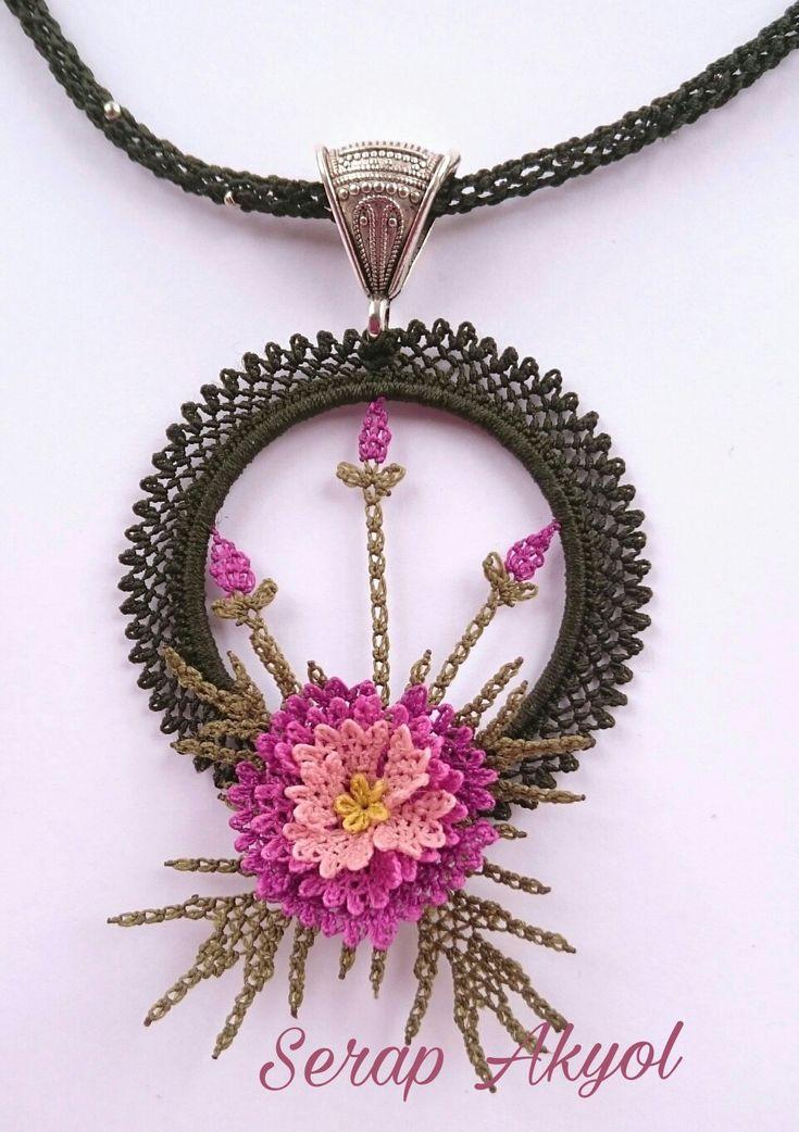 #kolye #iğneoyası #takı#takıtasarım#needlelace #necklace