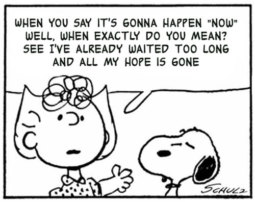 This Charming Charlie - A tumblr that is all Peanuts cartoons with lyrics from The Smiths as captions. This is dark.