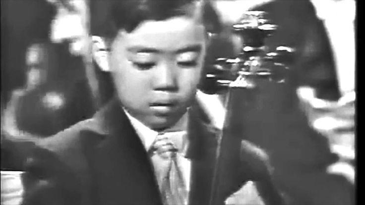Leonard Bernstein Introduces a 7 Year Old Yo-Yo Ma to an American Audience Including JFK in 1962