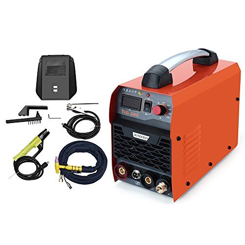 SUNGOLDPOWER 200Amp TIG ARC MMA Stick DC IGBT Inverter Welder System Digital LED Display Welding Machine 220V 230V 240V With HF Start Complete Package – Welders For Sale – UK