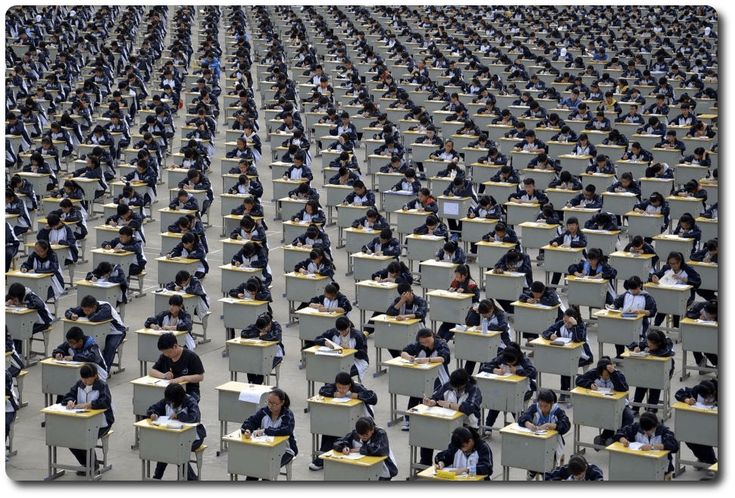 gaokao prueba de acceso a la universidad china