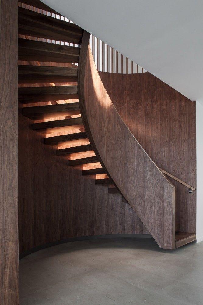 #Escalier #bois