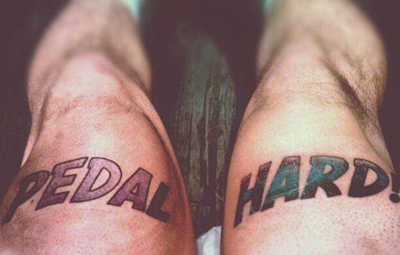 16 Cool Cycling Tattoos