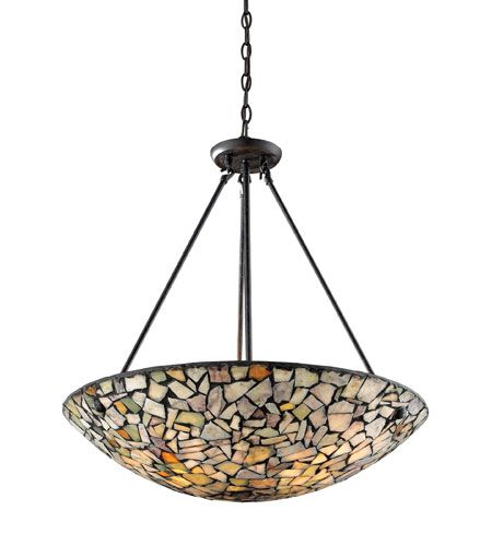 elk lighting catalog. elk lighting trego 4 light pendant in dark rust 60022-4 elk catalog
