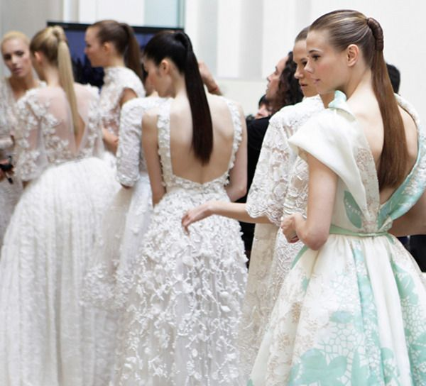 dustjacket attic: Elie Saab: Paris Fashion, Bridesmaid Dresses, Fashion Week, Ellie Will Be, High Fashion, Couture Dresses, Elie Saab Couture, Romantic Dresses, Haute Couture
