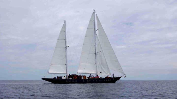 Sailing a 108-Year-Old Ship Through the Most Biologically-Diverse Marine Ecosystem on the Planet