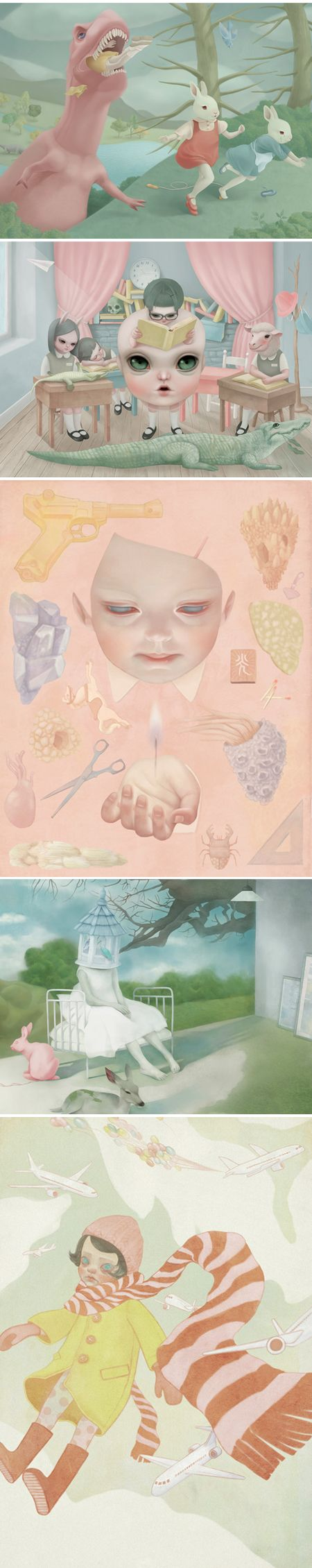 Hsiao-Ron Cheng. cute and creepy! what do you think, @Peter Thomas Thomas Riekert
