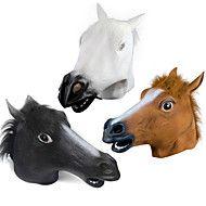 Маски на Хэллоуин / Animal Mask Голова лошади Товары для отпуска Halloween / Маскарад 1PCS(3 Color to Choose)
