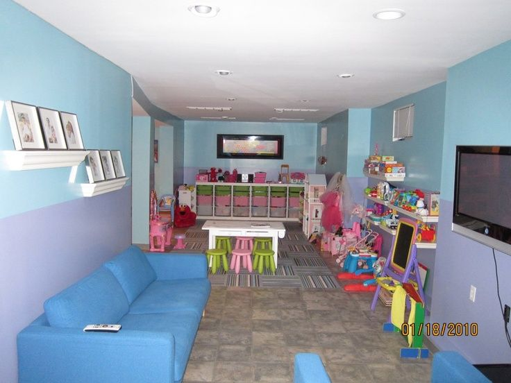 home daycare decorating ideas for basement found on