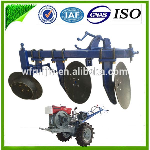 """""""Modern agriculture machinery Dongfeng 15/18/20/22HP agricutural tractor disc plow for sale, mini farm tractor plow made in china"""""""