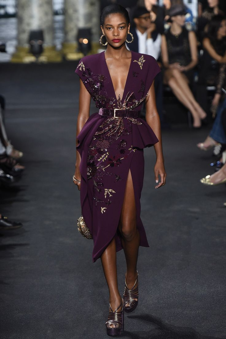 Elie Saab Fall 2016 Couture Fashion Show - Karly Loyce (Women)
