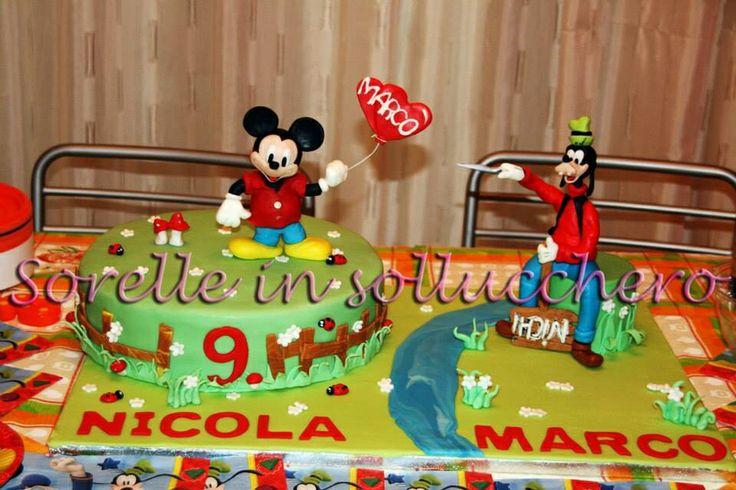 Topolino & Pippo cake