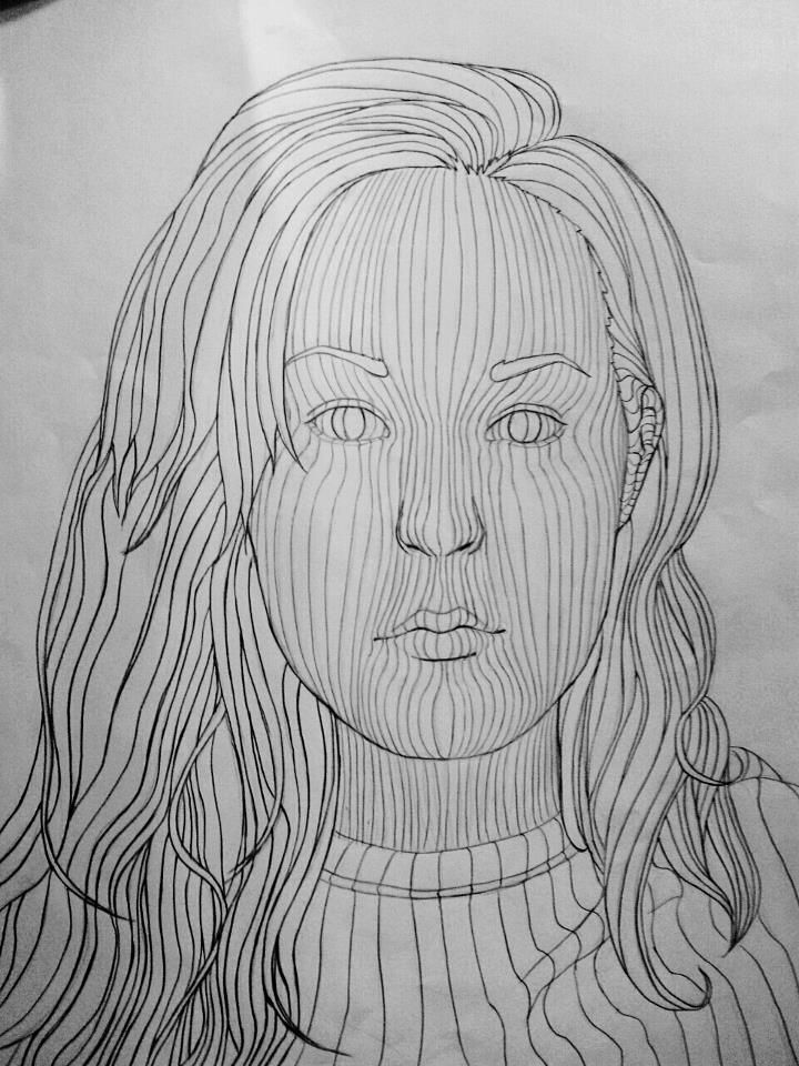 Contour Line Drawing Shell : Best cross contour line drawings images on pinterest