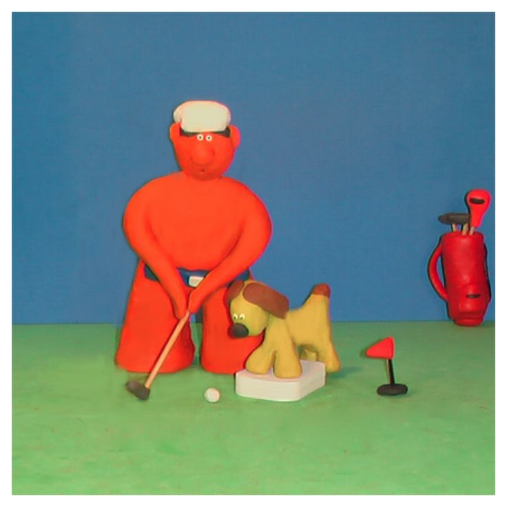 Bob was regretting asking his caddy to be involved in all decisions  Keen #golf #tips #art #fun #yoga #artist #golfwang #fitness #gym #golflife #design #creative #motivation #graphicdesign #dogs #artgallery #cute #animals #artspotted #bob_scooby #artshow #pilates #funny #pets #sportslife #clay #art_spotlight #golftips