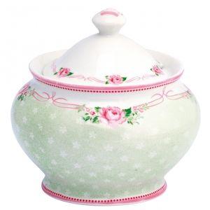 GreenGate suikerpot Amelie white