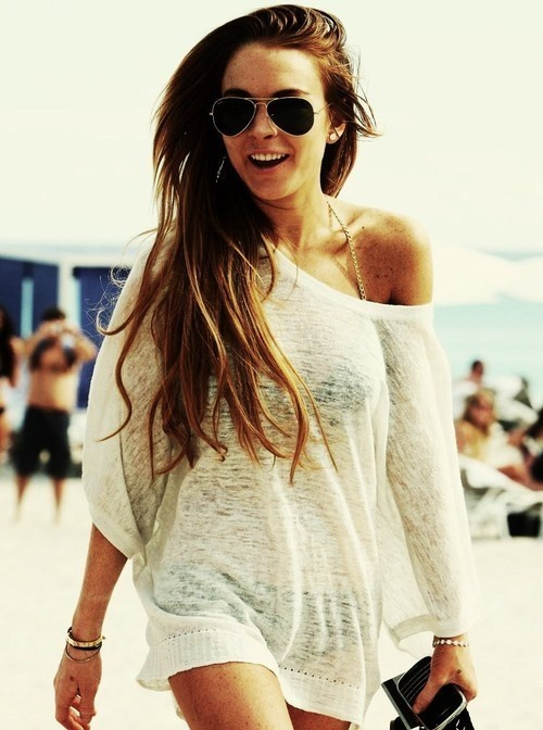 Love this cover up for the beach