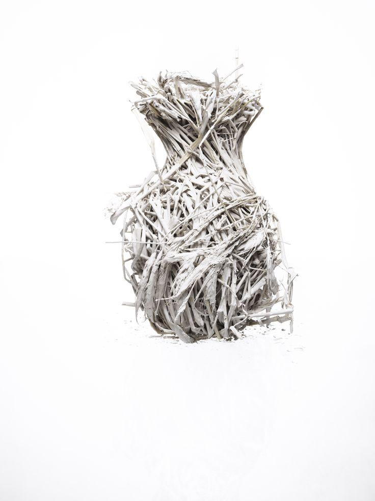 Vase Straw + Clay by Katja Pettersson http://www.katjapettersson.com/