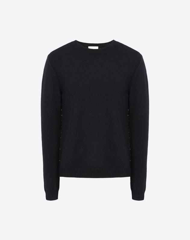Rockstud Untitled Cashmere Sweater - Valentino