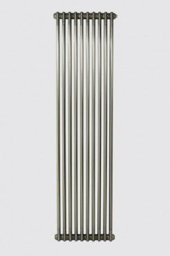 Eastgate Revive Raw Metal Lacquered Vertical 2 Column Radiator - 2000 x 490