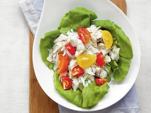 Crab Salad with Buttermilk Dressing | Recipe