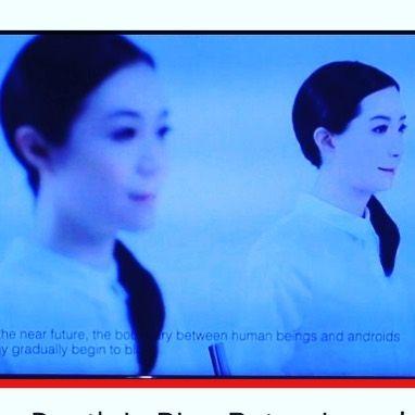 未来館のロボットの映像で死は大きいのビデオクリップを作りました見てみてhttps://youtu.be/HHMd9e1bEf0 Japanese version of Death Is Big clip #未来館 #ロボット #死 #歌 #ビデオクリップ