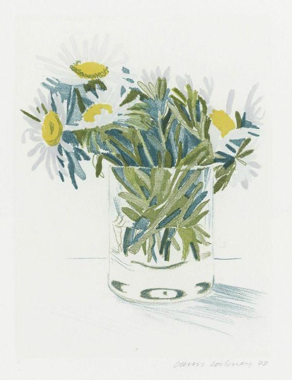 Marguerites   David Hockney, Marguerites (1973)