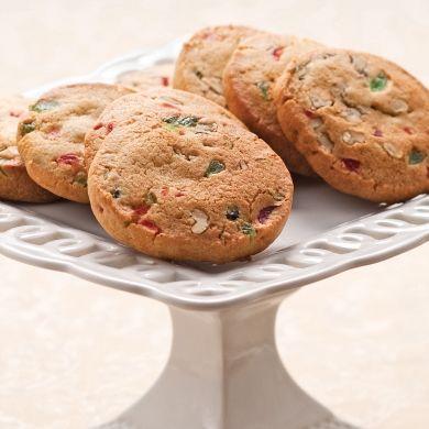 Biscuits frigidaire tutti frutti - Recettes - Cuisine et nutrition - Pratico Pratiques - Noël - Dessert