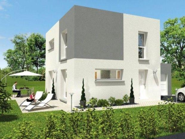 La maison Kaméléon PRIX DE VENTE DE LA MAISON (HORS FONCIER) : 128.000 € TTC SURFACE PLANCHER : 119,35 m2 COÛT PAR M2 DE SURFACE PLANCHER : 1.072 € TTC SURFACE DE LA PARCELLE PRIVATIVE : 377 m2 COS (RÉALISATION) : 0,32