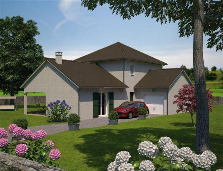 Beautiful plan maison neuve construire maisons balency for Piscine gauriaguet
