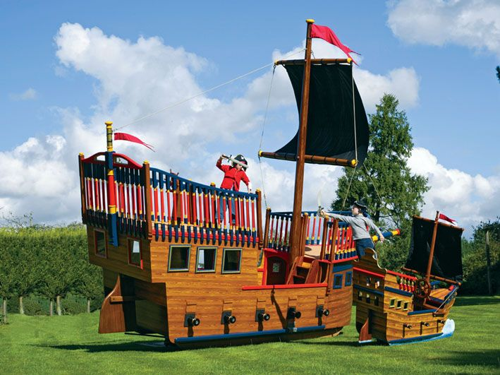 Play Pirate Ships And Pirate Play Areas In 2020 Play