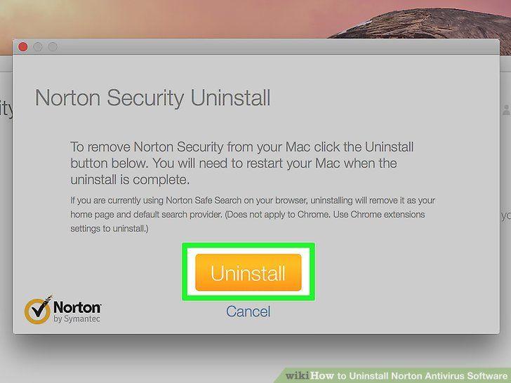 Uninstall Norton Antivirus Before Installing A New Version Norton Security How To Uninstall Norton Antivirus