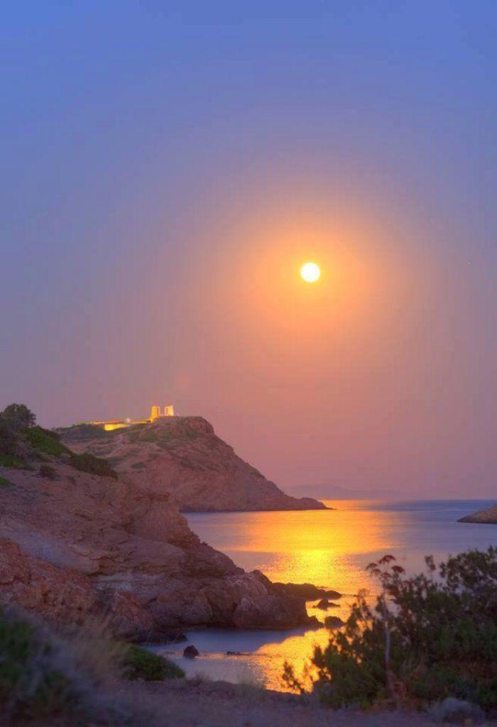Ο επιβλητικός Ναός του Ποσειδώνα στο Σούνιο σε ένα βίντεο όπως δεν τον έχετε ξαναδεί