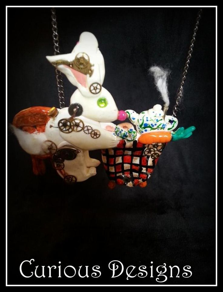 Story piece of jewellery Clockwork rabbits teaparty #steampunk #ladyopheliaravenlovelace #curiousdesigns #whiterabbit #aliceinwonderland  http://ladyopheliaravenlovelace.blogspot.co.uk/2014/08/a-walk-in-woods-steampunk.html  https://www.facebook.com/pages/Curious-Designs/353536071461624