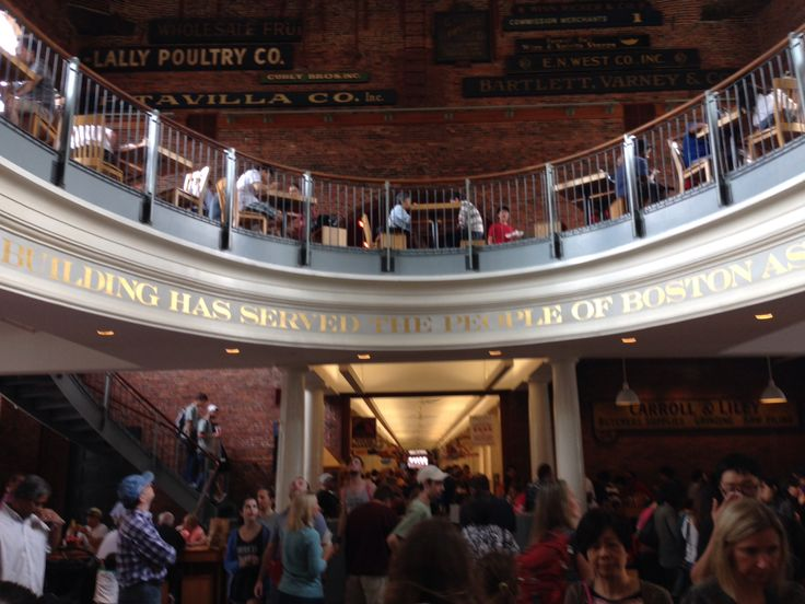 Inside The Quincy Market!